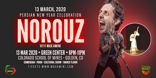 Nowruz 1399 in Denver with Max Amini