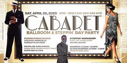 Step This Way- Steppin & Ballroom Cabaret Day Party