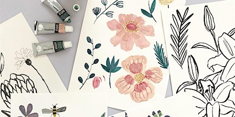 Relaxed Botanical Drawing Session tickets