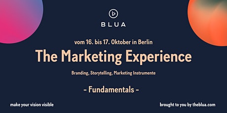 BLUA Workshop - The Marketing Experience - Fundamentals Tickets