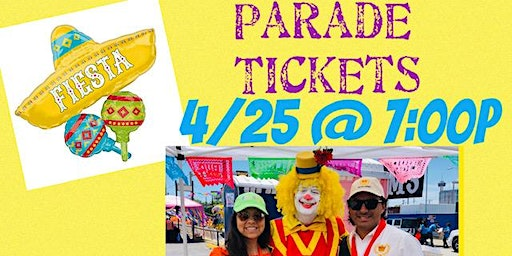Augie's Fiesta Flambeau Parade Party - Prime Location