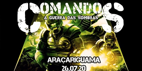 Comandos - A Guerra das Sombras bilhetes