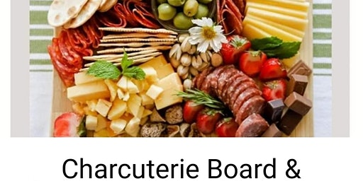 Charcuterie Board & Candle Lighting Class Take Home Board Provided