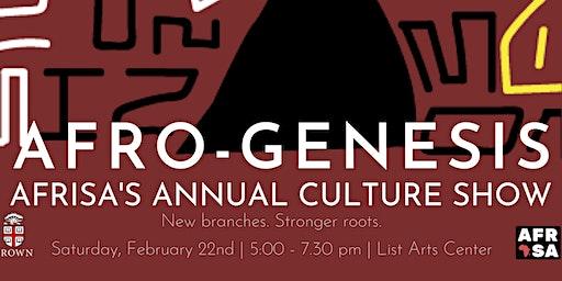 AfriSA Cultural Show 2020: Afro-Genesis