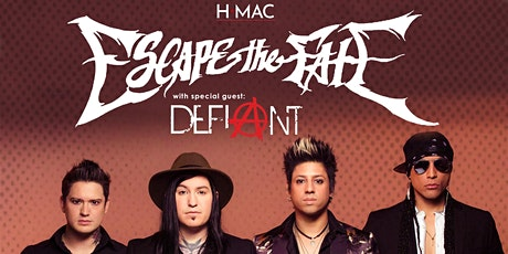 Escape the Fate at Harrisburg Midtown Arts Center tickets
