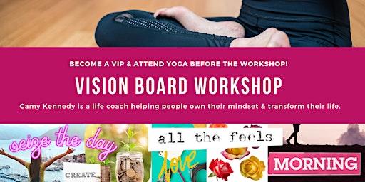 Vision Board Workshop & Yoga at Prima Elements