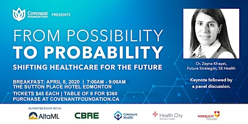 From Possibility to Probability - Shifting Healthcare for the Future