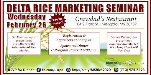 Delta Rice Marketing Seminar