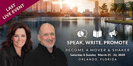 Speak, Write, Promote tickets