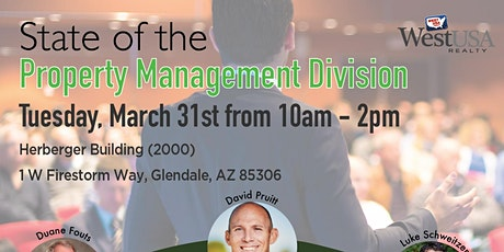 ***POSTPONED***State of the Property Management Division tickets