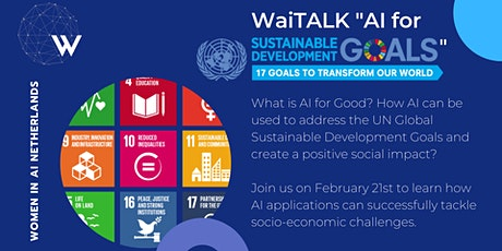AI for Sustainable Development Goals 2030 tickets