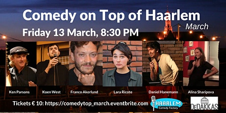 Comedy on Top of Haarlem March tickets