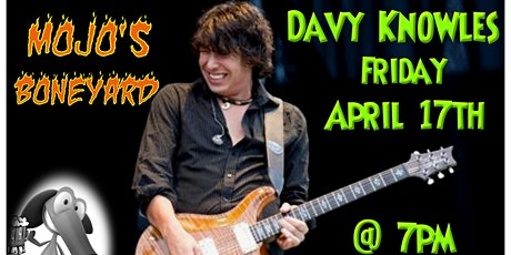 Davy Knowles with the Brandon Miller Band Opening tickets