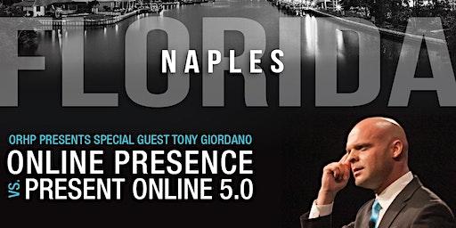 SWFLA REALTOR EVENT: Tony Giordano - Online Presence vs Present Online 5.0