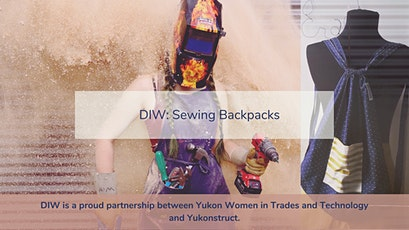 DIW: Sewing Backpacks tickets