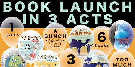 Book Launch in 3 Acts tickets