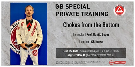 GB Special Private Training at GB Noosa tickets