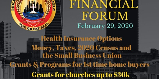 Faith Based Financial Forum