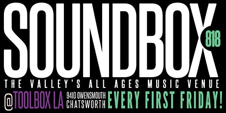 SOUNDBOX 818: The Valley's All Ages Music Venue tickets