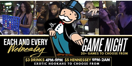 #SeasideWednesdays | GAME NIGHT | FREE ENTRY | TABLE RESERVATION 7134949093 tickets