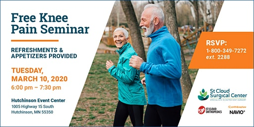 See Past Knee Pain with Navio Technology - Free Community Seminar