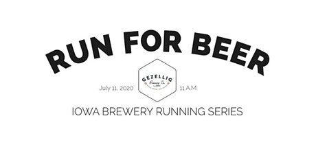 Beer Run-Gezellig Brewing | Part of the 2020 Iowa Brewery Running Series tickets