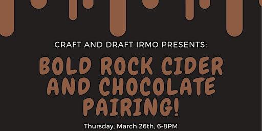Bold Rock Cider & Chocolate Pairing