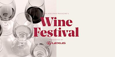 Philadelphia magazine's 2020 Wine Festival Presented by Lexus