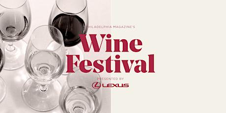 Philadelphia magazine's 2020 Wine Festival Presented by Lexus tickets