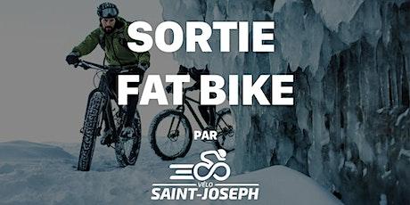 Sortie Fat Bike   Équipe de course Vélo St-Joseph billets