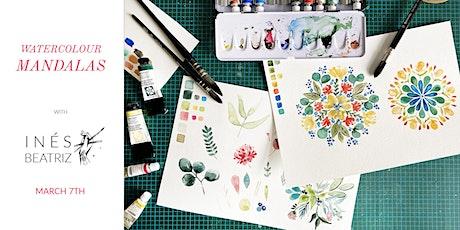 Watercolour Mandalas - Creative Workshop tickets