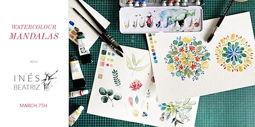 Watercolour Mandalas - Creative Workshop