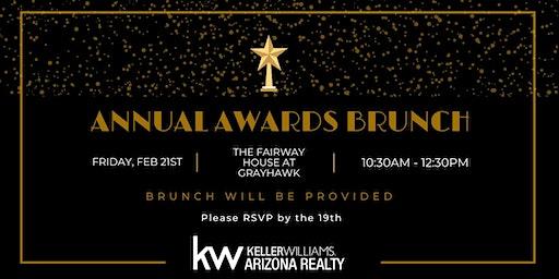 Annual Awards Brunch