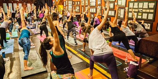 Vino & Vinyasa VIII at Engine House 25 :: Hip Hop Happy Hour Flow