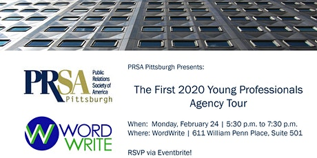 Inside WordWrite: A PRSA Young Professionals Agency Tour tickets