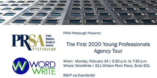 Inside WordWrite: A PRSA Young Professionals Agency Tour