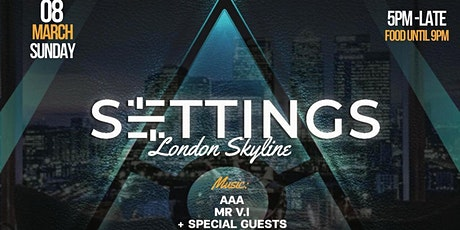 London Skyline - SETTINGS tickets