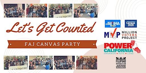 FAJ Volunteer Canvass Party