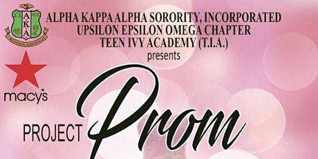 Project Prom tickets