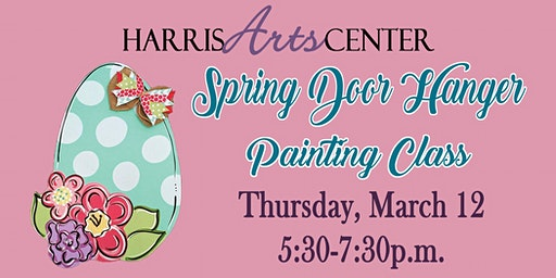 Spring Door Hanger Painting Class - Thursday