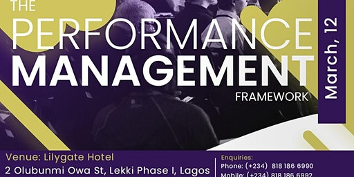 Performance Management Framework