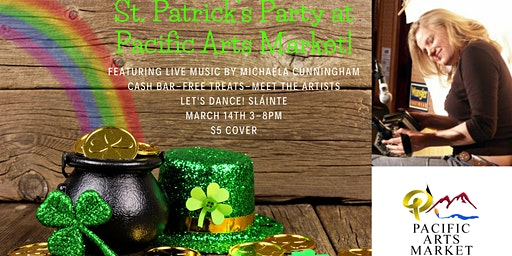 St. Patrick's Party at Pacific Arts Market