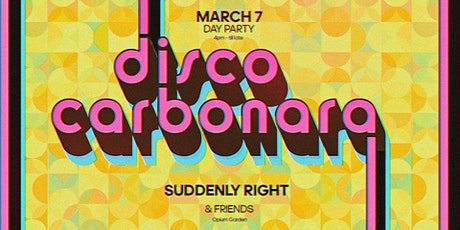 Disco Carbonara #2 at Opium Garden // Day Party tickets