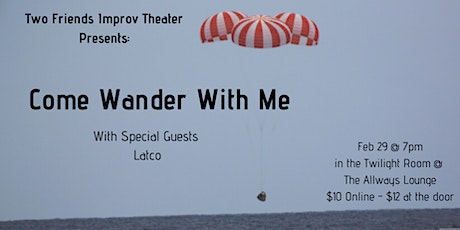 Come Wander With Me - a night of improv tickets