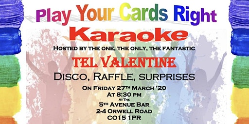 Karaoke and Play Your Cards Right