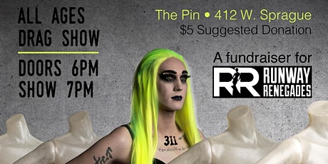 Mannequin Factory:  A Runway Renegades fundraiser drag show tickets