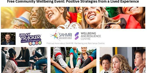 Free Community Wellbeing Event: SAHMRI