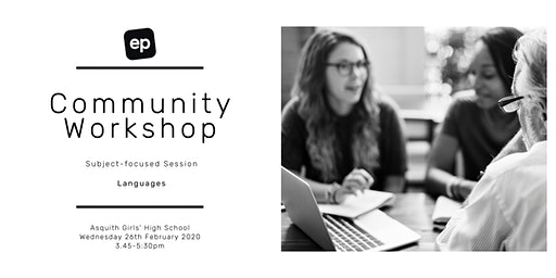 EP Community Workshop - Asquith