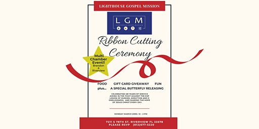 Lighthouse Gospel Mission Ribbon Cutting