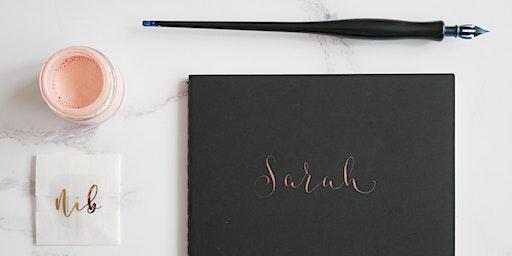 Modern Calligraphy Workshop for Beginners
